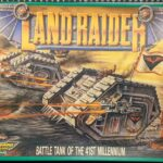1988 Land Raider box - front