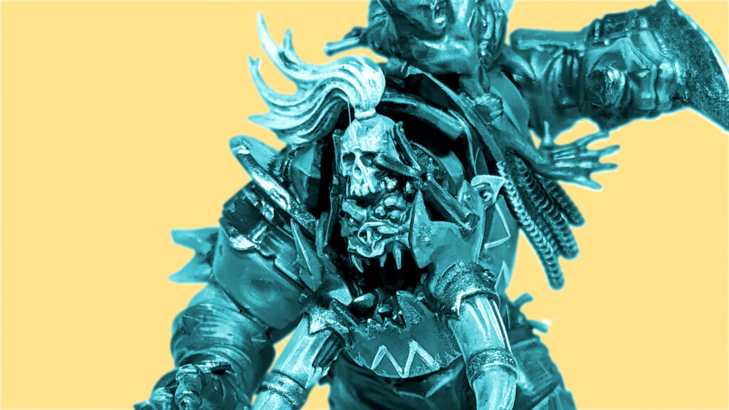 A picture colour shifted picture of Black Orc Star Play Varag