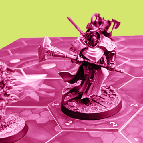Learning to love different game modes: Warhammer Underworlds Arena Mortis